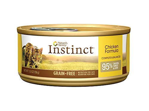Natures Variety Instinct Chicken Can Cat Food 12pk