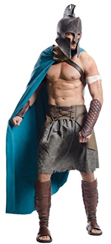 Themistocles Roman Warrior Costume Adult Soldier 300 Rise of an Empire Gladiator (Roman Empire Costume)