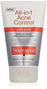 Neutrogena Allin1 Acne Control Daily Scrub, 4.2 Ounce (Pack of 2)