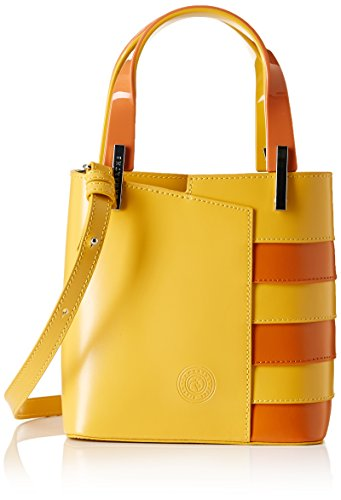 Lamarthe Ka102 Portofino Goes To The Sea, Borsa a mano, Giallo (Jaune (F017 Giallo Arancio)), taglia unica