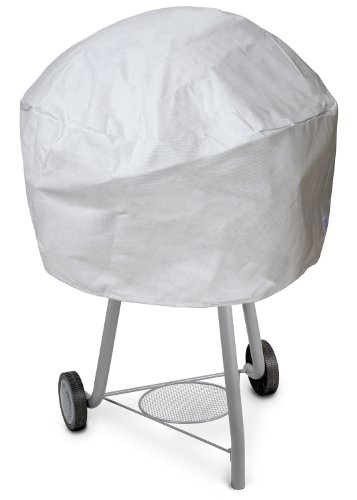 Koverroos Dupont Tyvek 23052 Small Kettle Cover, 27-Inch Diameter By 23-Inch Height, White front-352462