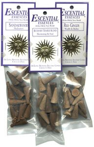 Dragon's Blood - Escential Essences Cone Incense - 16 Cone Package