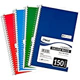 Mead 3-Subject Wirebound College Ruled Notebook, 6 Pack (6900)