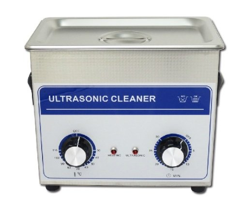 100W /3.2L Commercial Grade Lab Ultrasonic Cleaner Eyeglasses Jewelry Cleaner 220V/110V With Cleaning Basket
