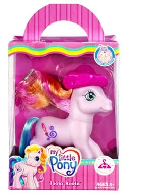 Buy Low Price Hasbro My Little Pony Toola-Roola Dress-Up Pony Figure 1 (B000Y8WP5Q)