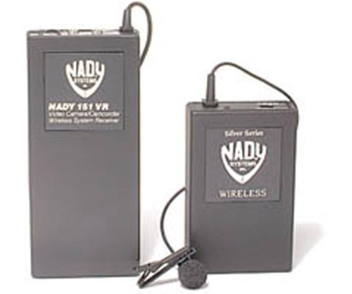 Brand New Nady Professional Wireless Microphone System For Camcorders - Lavaliere