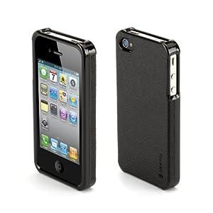 Elan Form 黑色真皮 iPhone 4 保护壳