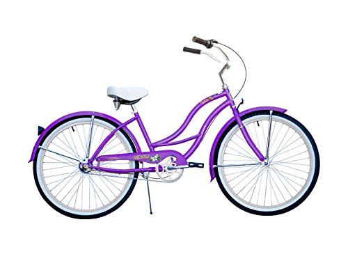 Micargi Bicycle Industries Tahiti 3-Speed Ride On, Purple (24 Beach Cruiser Rims compare prices)