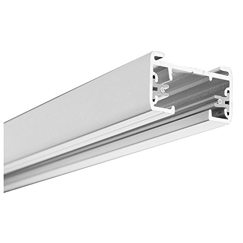 Lithonia Lighting LTS8 MW M6 1-Circuit Track Section with End Caps, 8', Matte White (Commercial Track Lighting compare prices)
