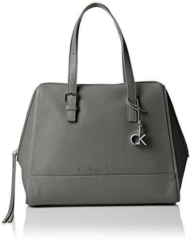 Calvin Klein - MELISSA SATCHEL, Borse da donna, Grigio (pavement), OS