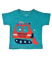 pepito boys T shirt 0-6 M TEAL