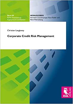 Corporate Credit Risk Management