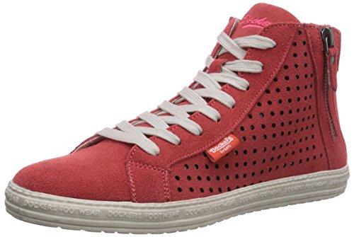 Dockers by Gerli 32LN242, Sneaker alta donna, Arancione (Orange (pfirsich 940)), 38