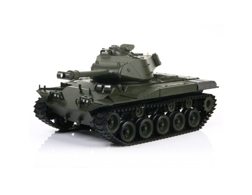 HONGLONG US M41A3 1:16 Scale 6-Channel Radio Control Battle Tank (Green)