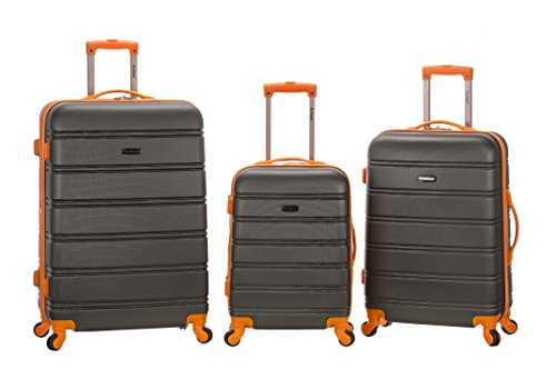 rockland-melbourne-abs-luggage-set-charcoal