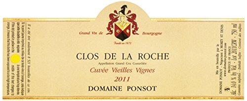2011 Ponsot - Clos De La Roche Grand Cru Vieilles Vignes Burgundy 750 Ml