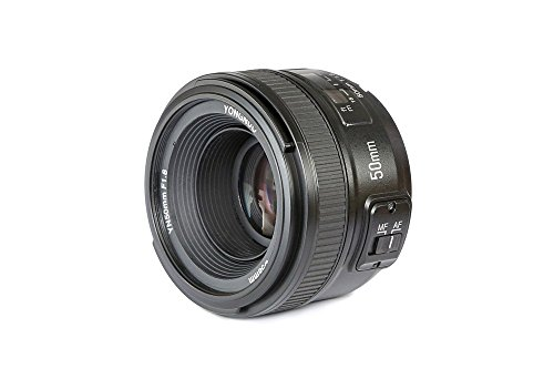 YONGNUO-YN50mm-F18-Standard-Prime-Lens-Large-Aperture-Auto-Manual-Focus-AF-MF-for-Nikon-DSLR-Cameras
