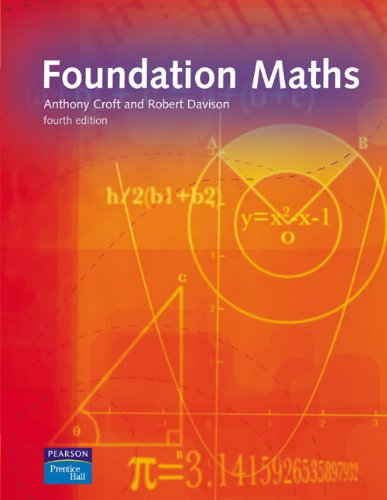 Foundation Maths; 4th Edition