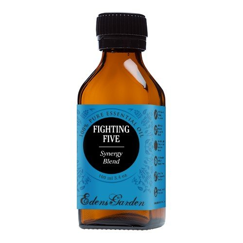 Fighting Five Synergy Blend Essential Oil- 100 ml  by Edens