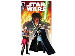 Star Wars 2009 Comic Book Action Figure 2Pack Dark Horse Tales of the Jedi #6 Ulic QuelDroma & Exar Kun