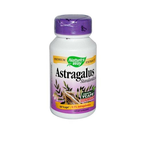 Nature'S Way Astragalus Standardized 60 Vegetarian Capsules
