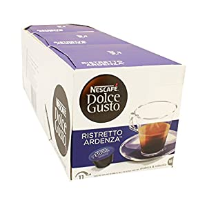 Purchase Nescafé Dolce Gusto Espresso Ristretto Ardenza, 3 Pack, Strong, 3 x 16 Coffee Capsules, 48 Servings Combined from Nestlé