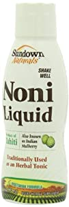 Sundown Naturals Noni Juice, 16 Ounces (Pack of 2)