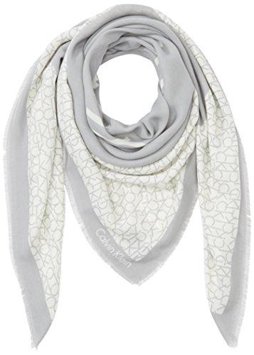 Calvin Klein Jeans Joyce Scarf, Scialle Donna, Grau (Stone 002), Taglia Unica