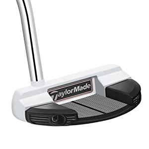 TaylorMade Men's Spider Mallet Steel Golf Putter, Left Hand, 35-Inch
