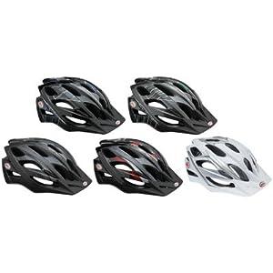 Bell Slant Bike Helmet (Silver/White, Universal Fit)