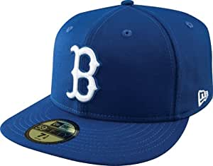 MLB Boston Red Sox Light Royal with White 59FIFTY Fitted Cap, 6 7/8