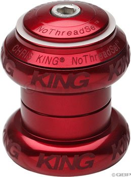 """King Nothreadset 1"""" Headset Red Sotto Voce"""