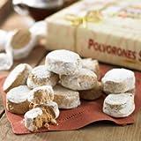 La Estepena Polvorones Selectos - Almond Cookies (1 box, 17.6 ounces - 20 individually wrapped pieces)