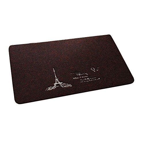 Clean Machine Doormat High Traffic ,16 by 24-inch,Paris Black
