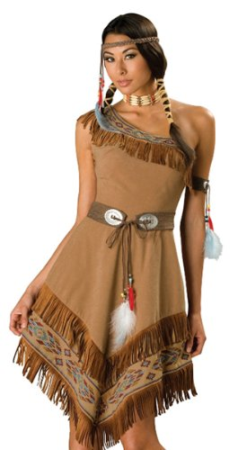Indian Maiden Costume - X-Large - Dress Size 16-18