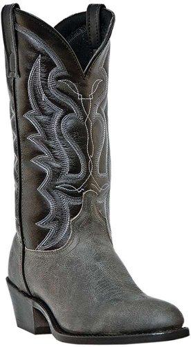 Laredo Men's Teton Cowboy Boot Round Toe Grey US