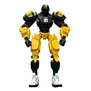 NFL Pittsburgh Steelers 10-Inch Fox Sports Team Robot by Foamhead