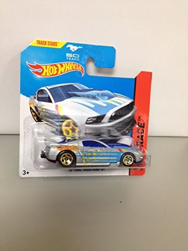 Hot wheels '13 ford mustang GT RARE short card 50 year mustang track stars 161/250 hw race