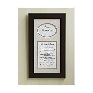 Amazon Com Walk With Me Daddy Picture Frame 7x14 Dad