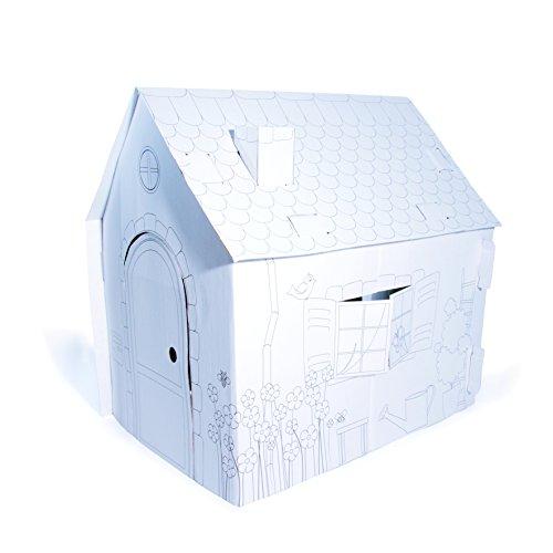 Y eacute; ateur DE & eacute; nie -Ec3328 Caja de cartón para colorear Casa de 50 x 50 cm