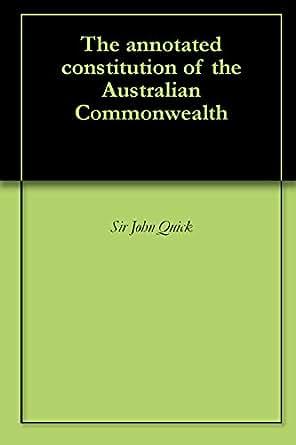 download constitution of the australian commonwealth quick & garran pdf