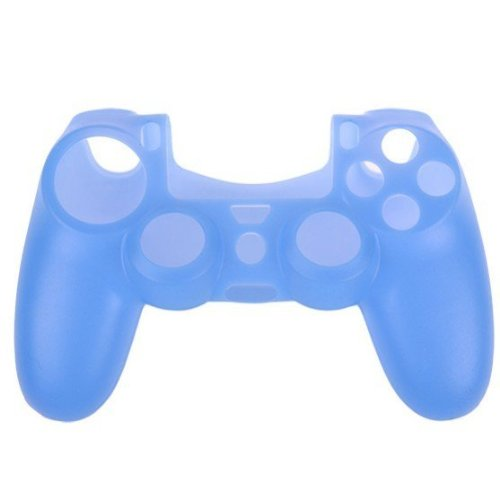 Goliton® Silicone rubber skin cover protective case for Playstation 4 PS4 Controller-Blue 2015 hot sale 5styles 1pcs silicone gel rubber case skin grip cover for playstation 4 ps4 controller free shipping