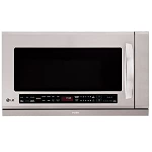 Amazon.com: LG OTR 2.0 CF 1100-Watt Microwave, Stainless