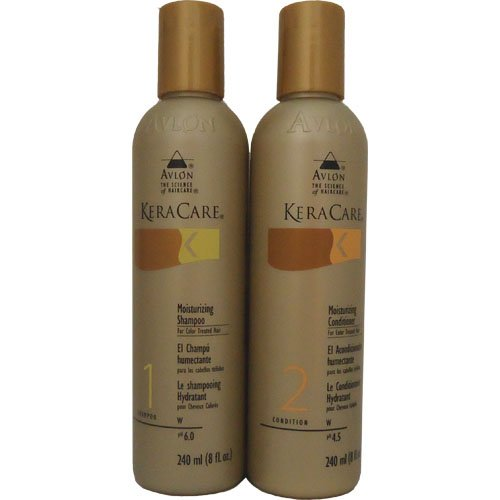 Keracare Moisturizing Shampoo For Color Treated Hair 8 Oz