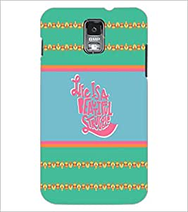 PrintDhaba Quote D-4250 Back Case Cover for SAMSUNG GALAXY S5 (Multi-Coloured)