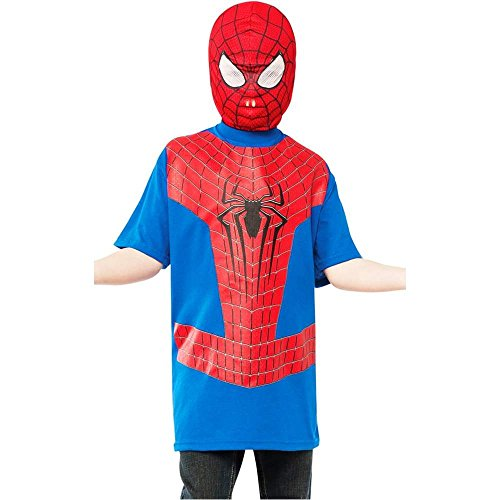 Amazing Spider-Man Kids T-Shirt Costume Kit