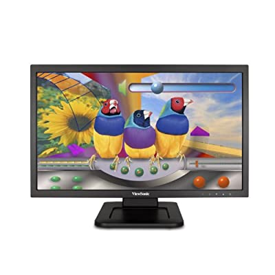 "ViewSonic TD2220-2 22"" FHD 2 Points Touch LED Monitor with VGA, DVI and 2 USB ports"