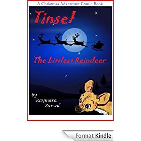 Tinsel The Littlest Reindeer, A Christmas Adventure Comic Book (English Edition)