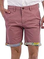 BLUE COAST YACHTING Pineapple Hem Fold Shorts Pineapple Hem Fold Shorts (ROJO)