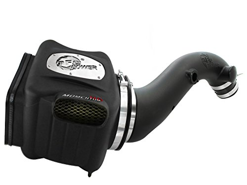 aFe Power Momentum HD 75-74001 GM Diesel Truck 01-04 V8-6.6L (td) LB7 Performance Intake System (Oiled, 7-Layer Filter)